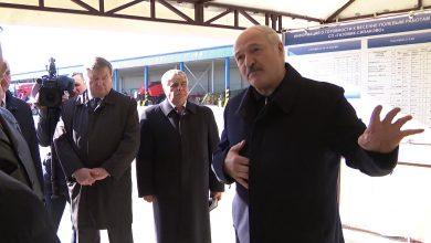 Лукашенко на Могилевщине