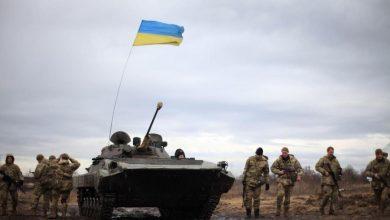 украинские военные, война в Донбассе