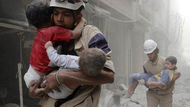 Фото постановочной атки в Сирии