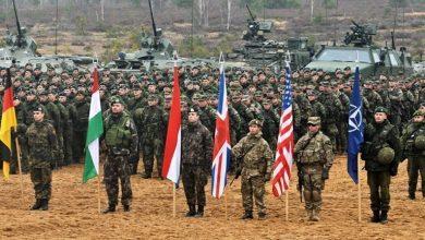 Парад НАТО на учениях