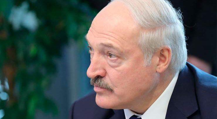 Президент Беларуси александр Лукашенко крупным планом