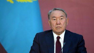 Бывший президент Казахстана Нурсултан Назабаев