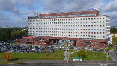 Здание парка высоких технологий в Минске