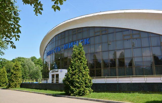 Здание хоккейного клуба Юность
