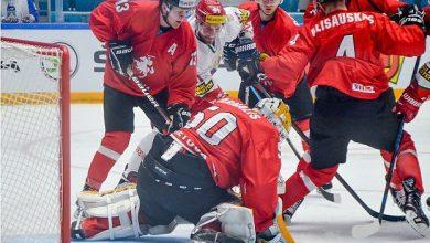Хокеисты сборной беларуси в игре перд пятачком у ворот