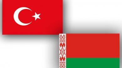 Флаги Беларуси и Турции