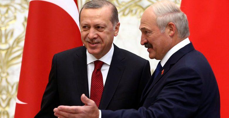 Президенты Беларуси и Турции Александр Лукашенко и Реджеп Тайип Эрдоган
