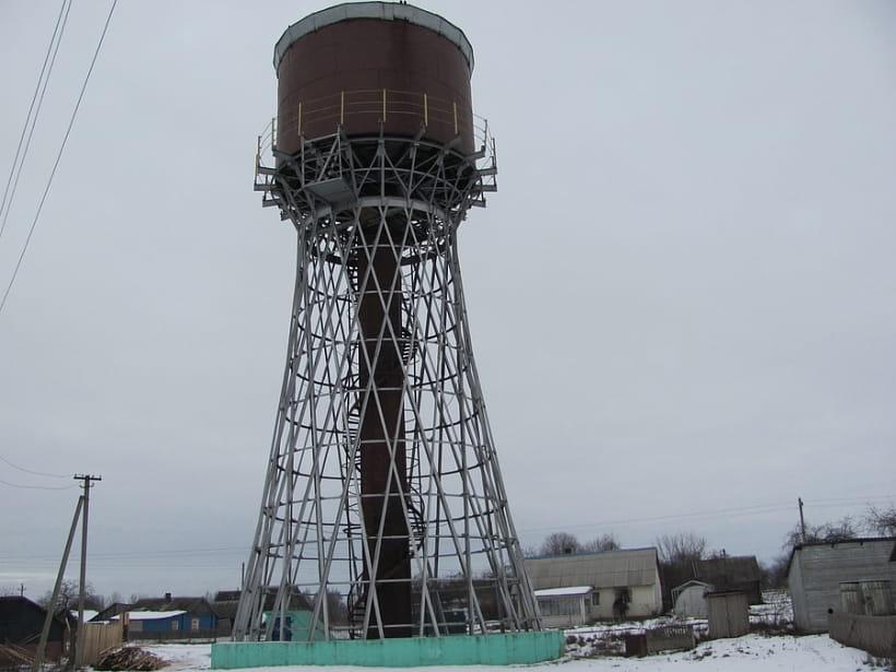 Шуховская башня в Коханово, зима 2018 года. Фото Инги Романовской
