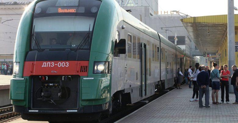 поезд Минск-Вильнюс