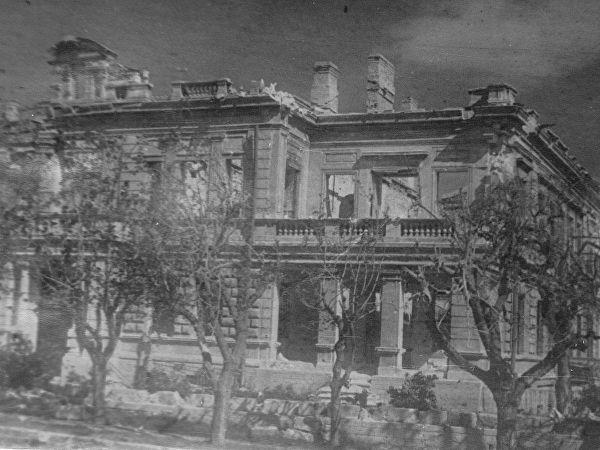 Фото разрушенного Севастополя