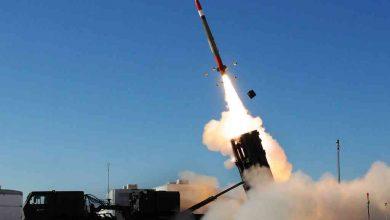 Система ПВО НАТО производит запуск ракеты земля-воздух