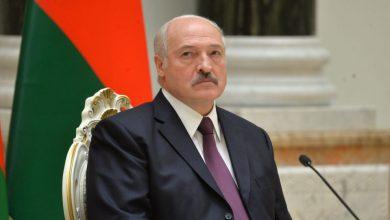 Президент беларуси Александр Лукашенко на рабочем месте
