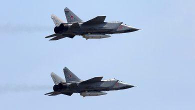 """Самолёты оснащенные гиперзвуковыми ракетными комплексами """"Кинжал"""""""