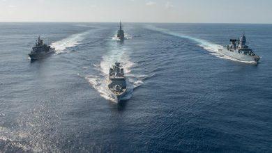 Корабли НАТО в Балтийском море
