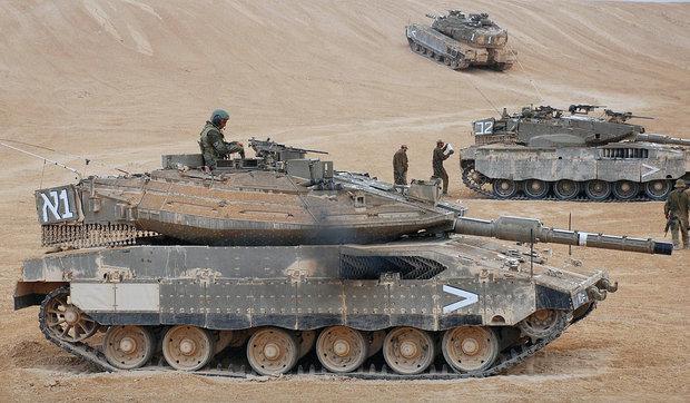 Танк израильской армии Меркава