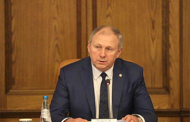 Премъер министр Беларуси Румас на заседании правителсьтва