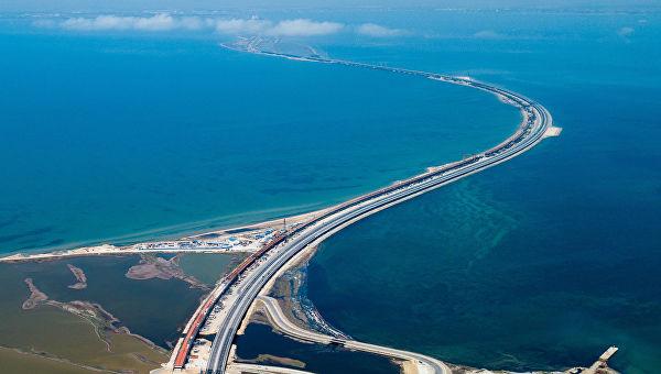 Крымский мост с высоты