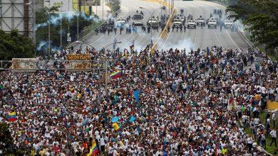 Венесуэла беспорядки
