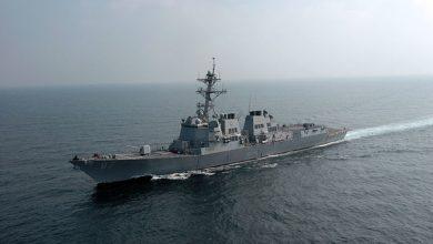 Эсминец флота США эсминец USS Mason