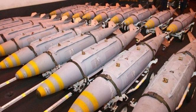 Ядерные боеприпасы сложенные рядами