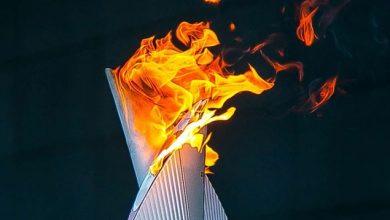 Огонь вторых Европейских игр