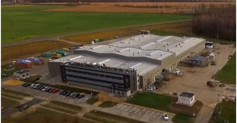 Аккумуляторный завод в бресте с воздуха