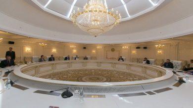 Зал для переговоров контактной группы по Донбассу