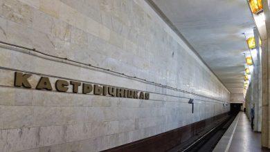 """станция метро """"Октябрьская"""" в Минске"""