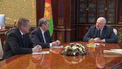 Губернатор могилёвской области Леонид Заяцна совещании у Александра Лукашенко