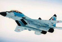 Миг-35 в воздухе