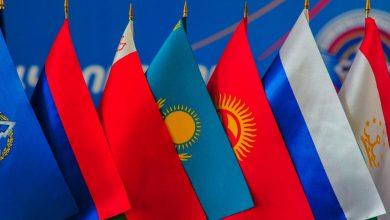 Флаги стран членов ОДКБ