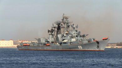 Российский сторожевой Корабль Сметливый