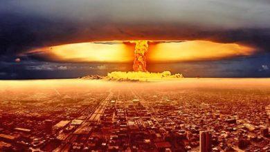 ядерный взрыв над крупнымгородом