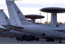 Самолёты разведчики НАТО на аэродроме
