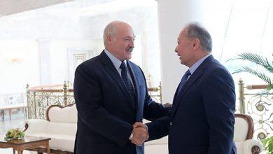 Лукашенко и Бакиев