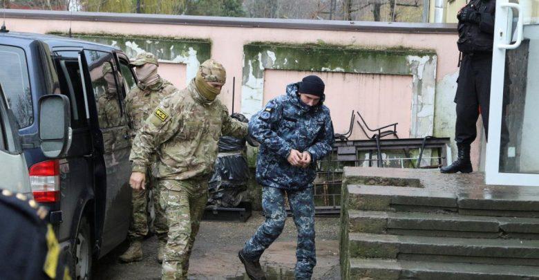 конвоирование украинских моряков