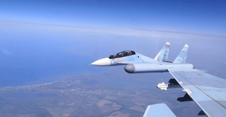 Су-30М над Крымом