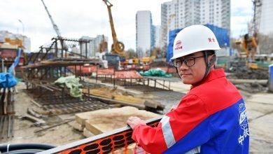 Китайский строитель