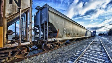 грузовой состав, вагоны
