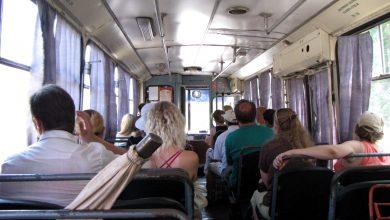 в салоне троллейбуса