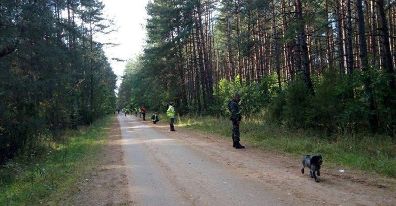 волонтёры ведут поиски пропавшего мальчика