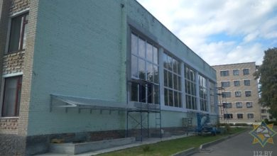 В Ляховичах устанавливают точную причину пожара, случившегося в здании аграрного колледжа 11 сентября