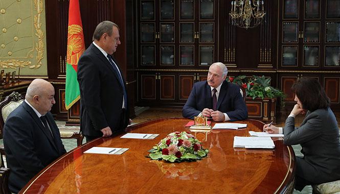 Президент Беларуси Александр Лукашенко 12 сентября рассмотрел кадровые вопросы