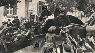 население Западной Беларуси встречает Красную армию