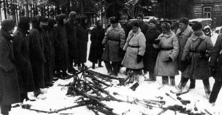 Немцы сдаются красной армии