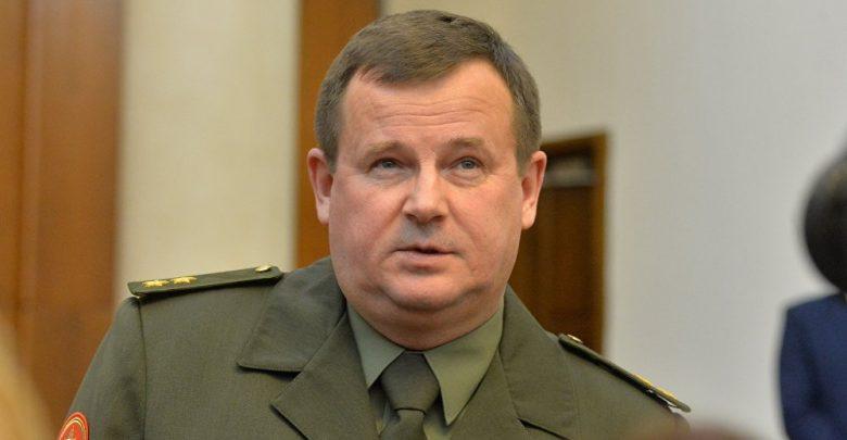 Министр обороны Беларуси Равков