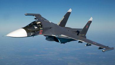 Су-34 в воздухе