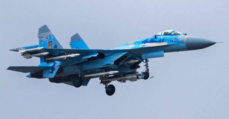 СУ-27 Украины сдул людей