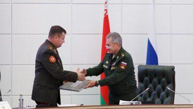 Министры обороны Беларуси и России