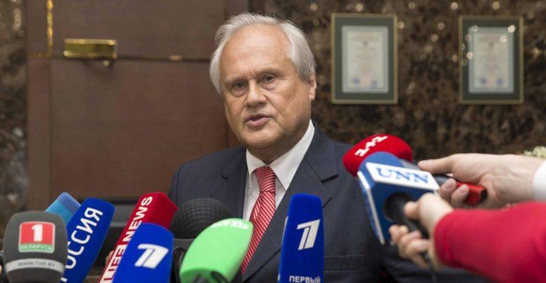 спецпредставитель ОБСЕ на переговорах трёхсторонней контактной группы Мартин Сайдик
